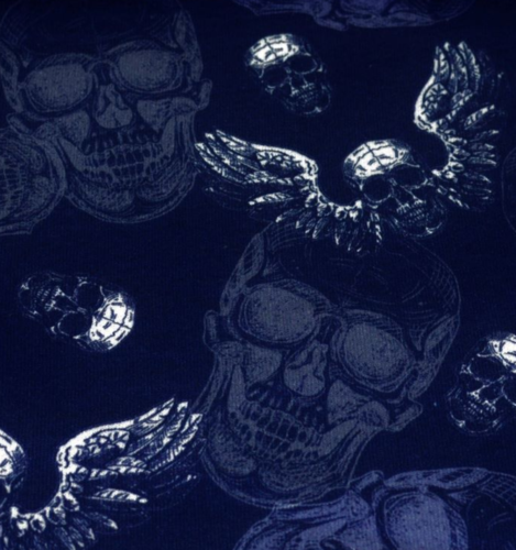 Skulls Old School blue